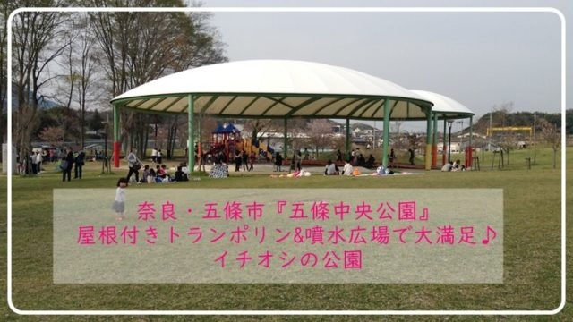 奈良 トランポリン 水遊びができる公園