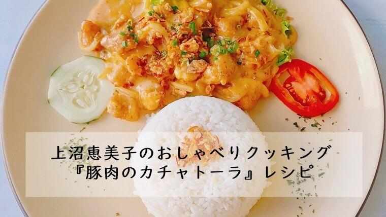 上沼恵美子 おしゃべりクッキング 5月29日 豚肉 カチャトーラ